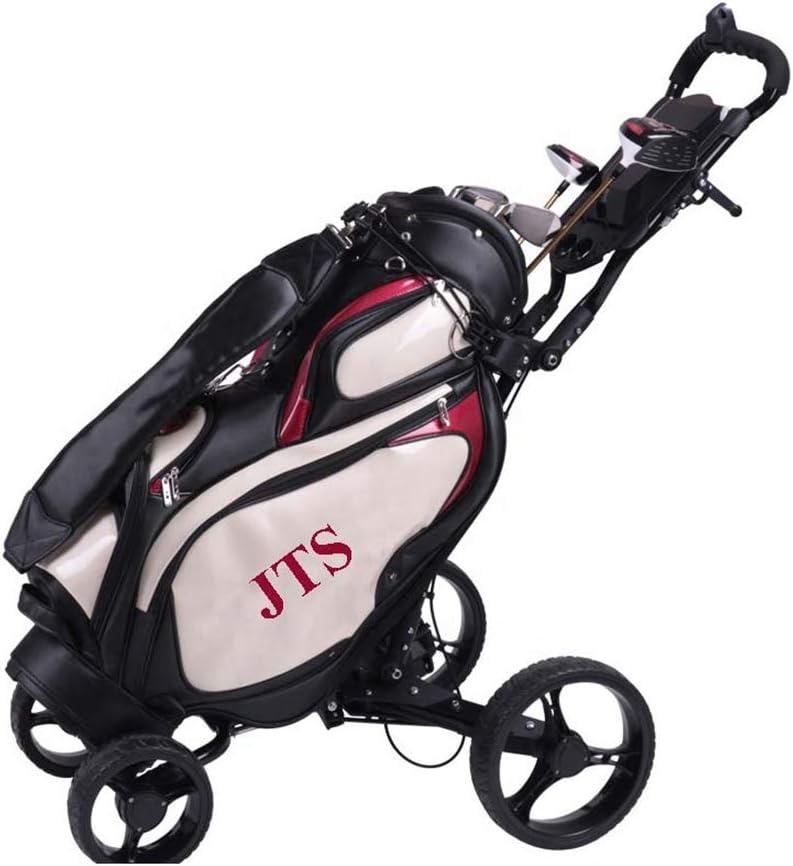 Carrito De Golf 4 Ruedas Plegable con Panel Multifuncional Y ...