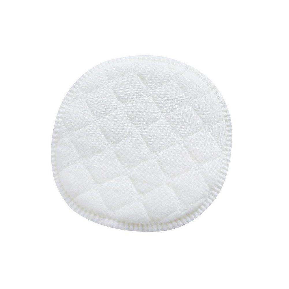 12/pcs Blanc Diam/ètre 9/cm//9/cm doux Coton Bio rond Coussinets dallaitement respectueux de lenvironnement lavable r/éutilisable dallaitement Pad pour femme Lady