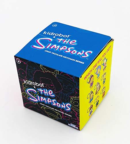 Kidrobot The Simpsons Crap-Tacular Keychain Series Blindbox Standard