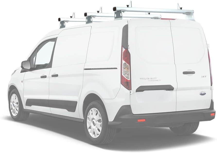 Sistema de portaequipajes para furgonetas de aluminio con escalera AA Products Inc.AA-Racks AX302 Transit Connect: Amazon.es: Coche y moto