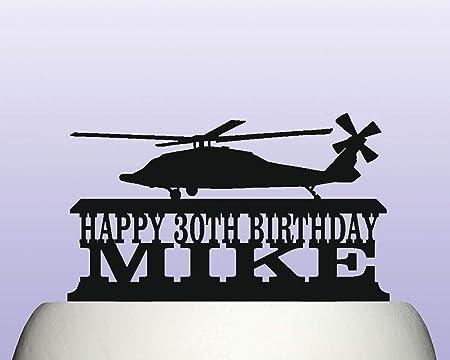 Decoración para tarta de cumpleaños con diseño de ...