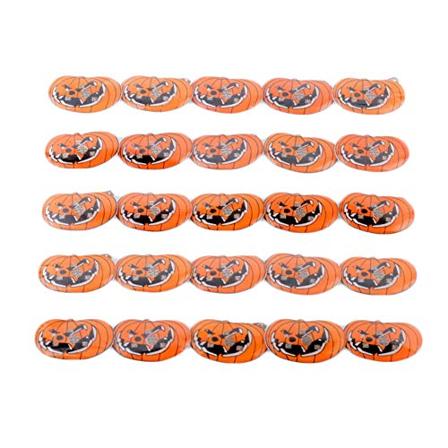 (Cute Ghost Pumpkin Brooch Pins Halloween LED Light Up Lapel Pins for Halloween Costumes Party Props)