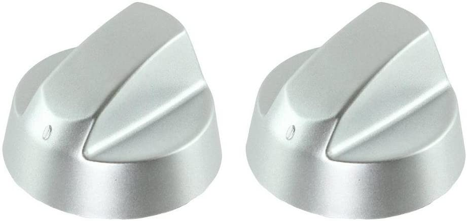 Lazer Electrics Silver Grey Control Knobs//Dials for Fagor Oven Cooker /& Hob Pack of 2