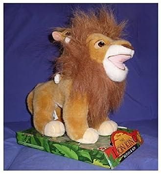 MATTEL Peluche – Disney s el rey león, Mufasa & Simba