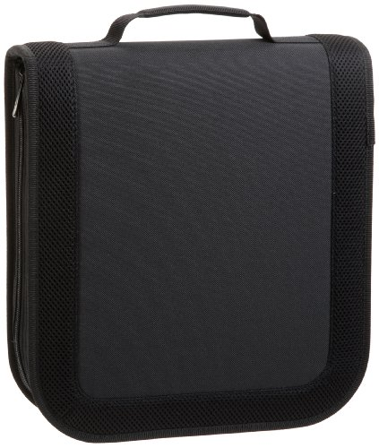 AmazonBasics Nylon CD/DVD Wallet (128 - Cd Nylon / Dvd Disc