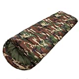 Camping Sleeping Soft Inside Bag with 15~5 Degree Envelope Style - A Multifunctional Outdoor Travel Sleeping Bags for Adults in Cold Weather