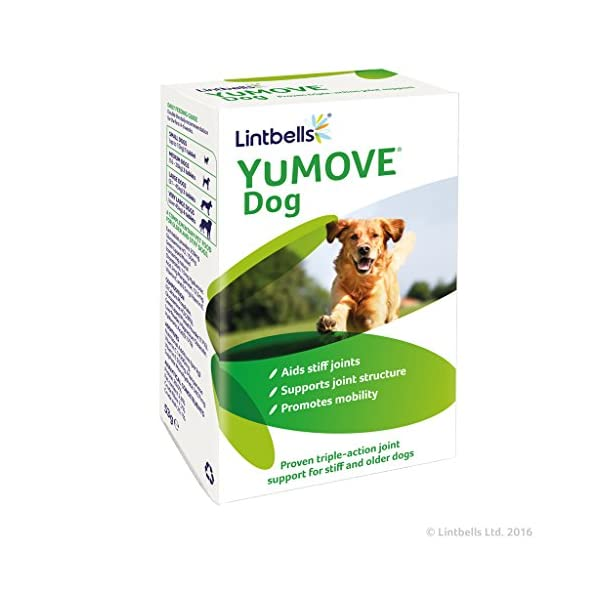 Lintbells YuMOVE Dog supplement for stiff dogs, 60 tablets 1