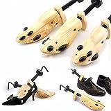 Chonlakrit One Pair Wooden Shoe Stretcher Adjustable Size 6-13 For Men Women