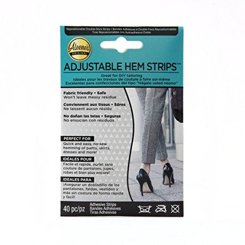 Aleene's Adjustable Hem Strips 40pc ()
