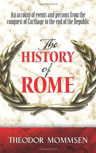 Book cover for The History of Rome
