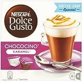 Nescafé Dolce Gusto - Chococino Caramel - Cápsulas sabor a chocolate y caramelo - 16 cápsulas