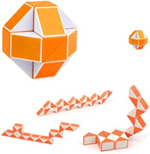 Variety two-color magic ruler 24 paragraph magic ruler snake-shaped cubes children adult educational toys early childhood education