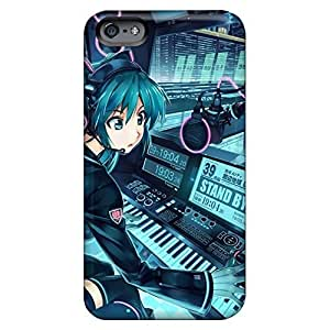 Hot cell phone case New Arrival Series iphone 4s - hatsune miku anime dj