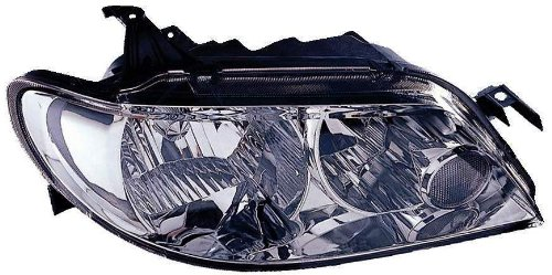 Depo 316-1127R-US1 Mazda Protege Passenger Side Replacement Headlight Unit without Bulb