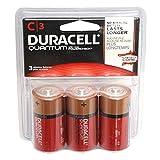 Duracell 66516 - C Cell Quantum Battery (3 pack) (DU QU AL C3RFP 3PK)
