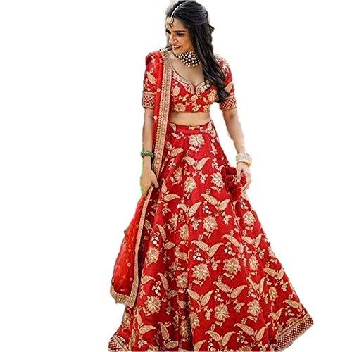 - REKHA Ethnic Shop Designer Lehenga Choli Party Wear Lehenga Choli Bridal Lehenga Choli 05