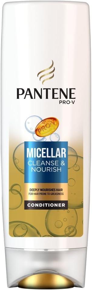 Pantene Pro-V Micellar acondicionador purificador y nutritivo, 400 ...