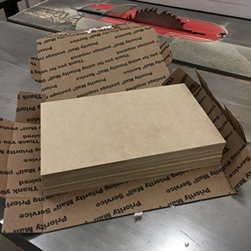 Overstock sale - 5'' x 7'' MDF panels - 1/8'' thick - perfect for crafting