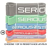 """Serious Steel Assisted Pull-Up Band, Resistance & Stretch Band 