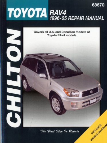 Toyota Rav4, 1996-2005 (Chilton's Total Car Care Repair Manuals), by Chilton