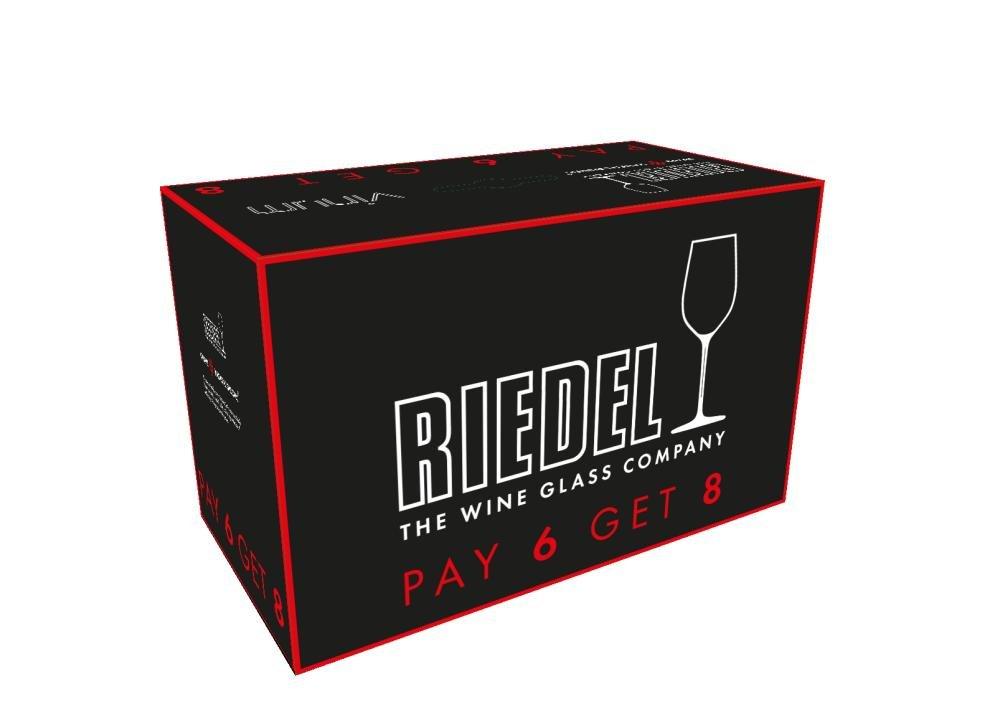 Riedel VINUM Bordeaux/Merlot/Cabernet Wine Glasses, Pay for 6 get 8 by Riedel (Image #3)