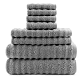 Best Bath Towels Quick Dries - Darware 100% Cotton 8-Piece Bath Towel Set, Quick-Dry Review