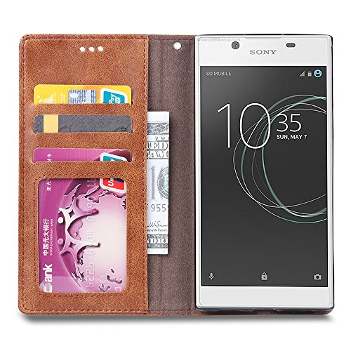 Sony Xperia L1 High quality Funda Caso,OFU® [Anti-Slip][Slim Fit] Frosted Ultra Thin Matte Hard Back Cover Case [Screen Protector Film for Gift],case cover Para Sony Xperia L1 Smartphone gris