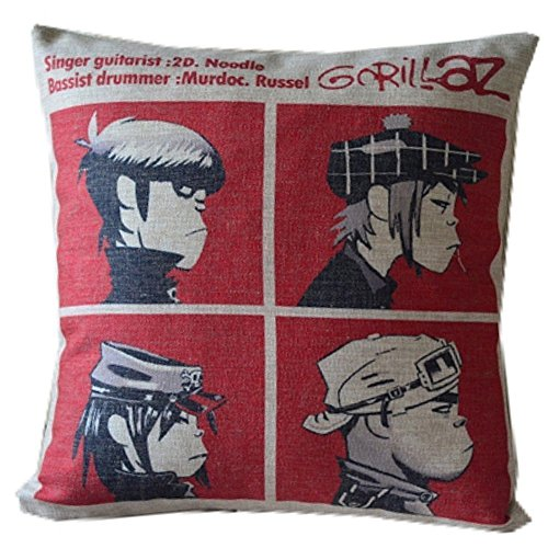 Nkaylockstore Gorillaz Band Hip-pop Music Comic DIY Creative