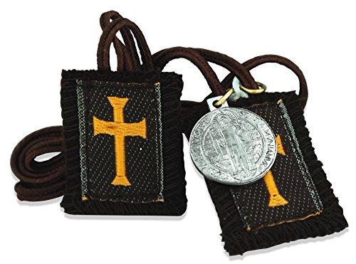Authentic Catholic Scapular - 100% Wool (Crusader 24