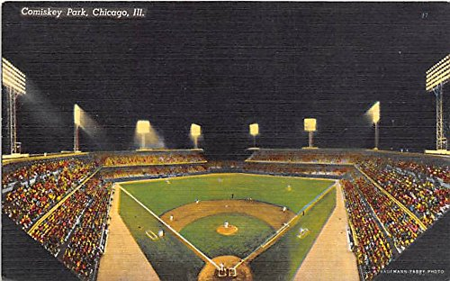 Comiskey Park Chicago, Illinois, IL, USA Old Vintage Postcard Post Card
