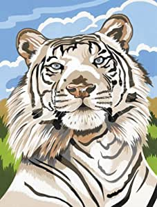 Amazon.com: Reeves White Tiger Acrylic Painting Set by ...