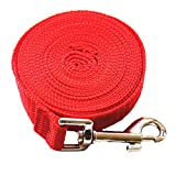 Glumes Dog/Puppy Obedience Recall Training Agility Lead - 16.4ft Training Leash - Great for Training, Play, Camping, or Backyard