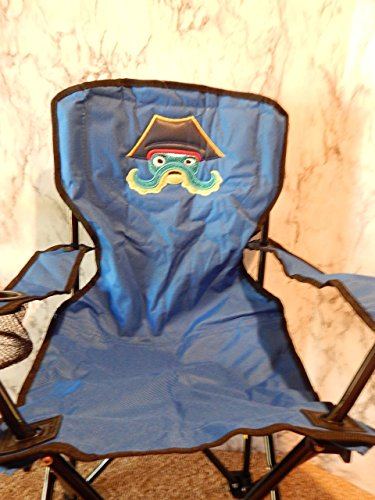 Personalized Octopus Pirate Folding Chair (CHILD SIZE) -