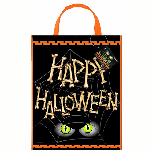 Halloween Bones Deluxe Favor Bag