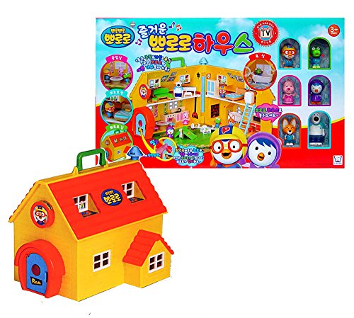 Pororo The Little Penguin Fun House / Korea TV Animation Children's Gifts by ICONIX