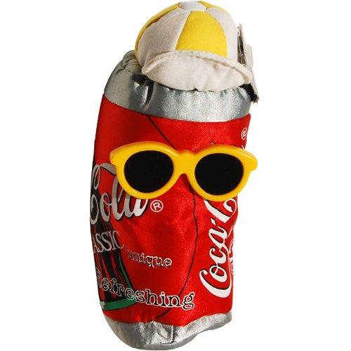 #0132 Coca-Cola Can in Shades - Coke Bean Bag Plush from Coca-Cola