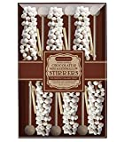 Melville Mini Marshmallow Hand Dipped Chocolate Stirrers - 6 Pack Gift Box