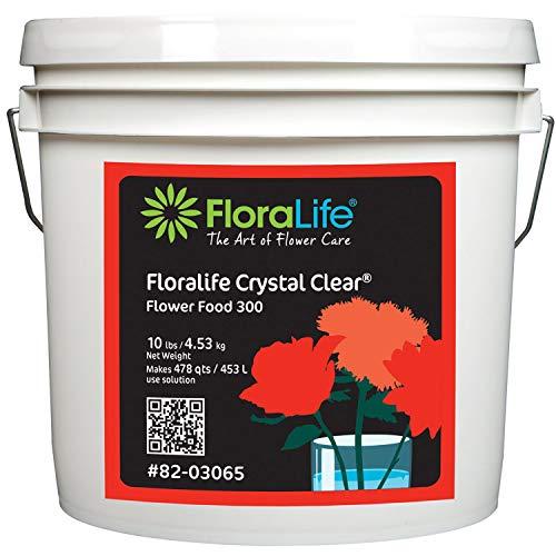 Floralife Crystal Clear® Flower Food 300 Powder, 10 Lb.