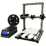 ALUNAR 3D Printer Prusa I3 DIY Kit Quick Assembly Aluminum Large Print Size 220x270x300mm