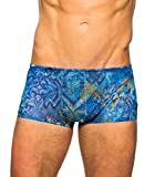 Kiniki Azure Tan Through Swim Trunk Swimwear S