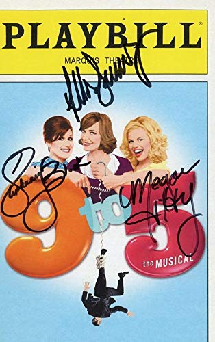 9 TO 5 - Broadway Cast AUTOGRAPHS Signed Playbill from TopPix Autographs