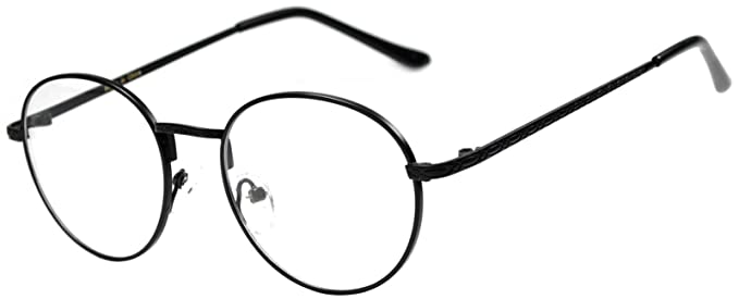Amazon.com: Round Retro Vintage Circle Style Sunglasses Colored ...