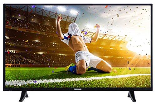Telefunken XF43B400 110 cm (43 Zoll) Fernseher (Full-HD, Triple Tuner, Smart TV, Netflix-Streaming Funktion) schwarz