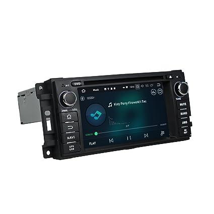 Android 8.0 Octa Core coche reproductor de DVD GPS navegación Multimedia estéreo de coche para Jeep
