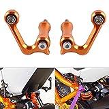 Fittings 1 Pair Motorcycle Racing Hooks for KTM RC8 R RC8R 1190 Billet Aluminum Left Right Racing Hook