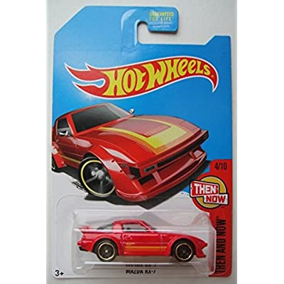 Hot Wheels THEN AND NOW 4/10, RED MAZDA RX-7 KMART EXCLUSIVE: Toys & Games