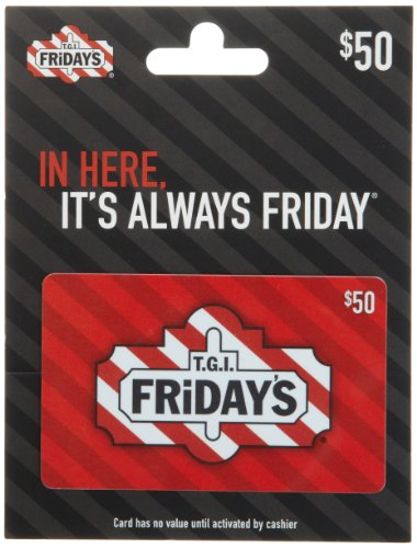 T.G.I Friday's Gift Card $50