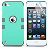 Best ULAK Ipod Case 5th Generations - iPod Touch 6 Case,iPod 6 Case with 2 Review