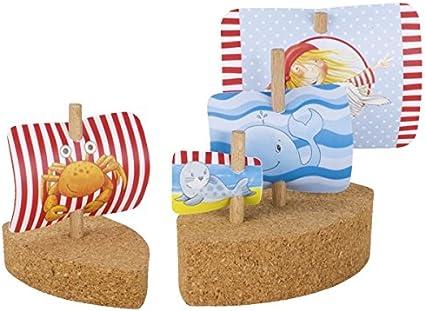 Goki- Mini veleros de Corcho, Peggy Diggledey Aviones de radiocontrol, Color (Multicolor) (58503)