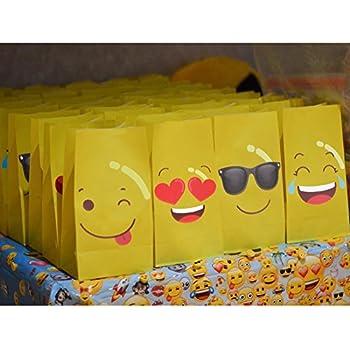 Amazon.com: MelonBoat Emoji Party Supplies Birthday ...